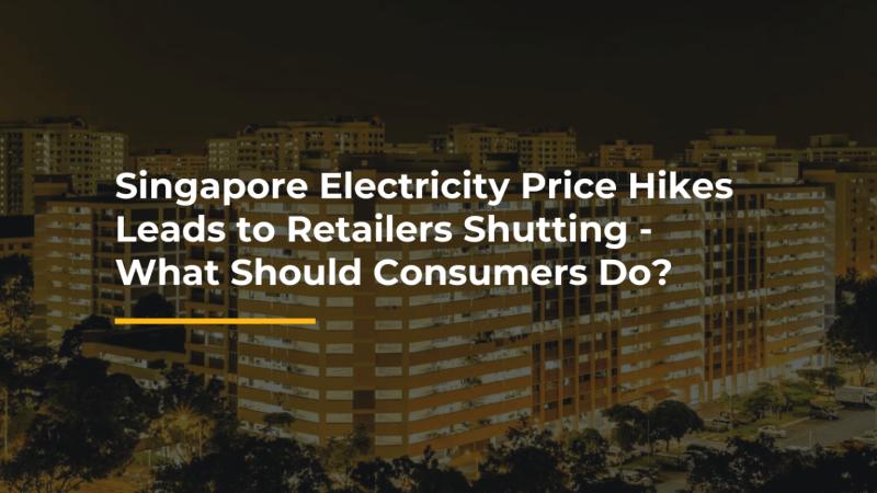 singapore electricity price hike