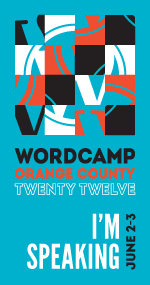 I'm speaking at WordCamp Orange Country 2012!