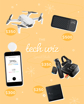 "Photography gifts for the ""tech wiz"""
