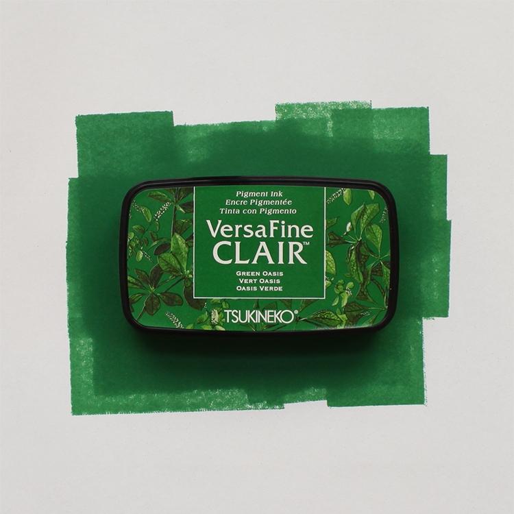 green versafine ink pad