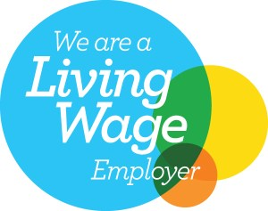 Living Wage Custom Stamps