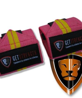 GS Pink Wrist Wraps 12 Inch (pair)