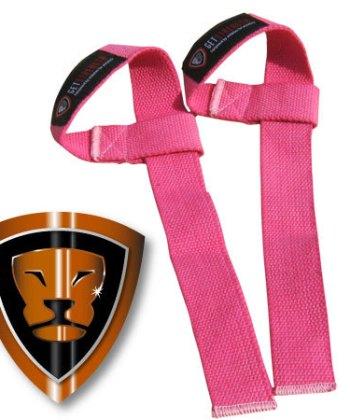 GS Pink Lifting Straps (pair)