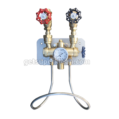 SuperKlean 8000GM-S Stainless Steel Water Mixing Unit