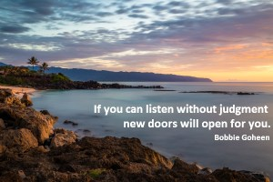 Listen Without Judgment