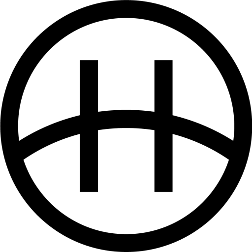 Get The Horizon logo black