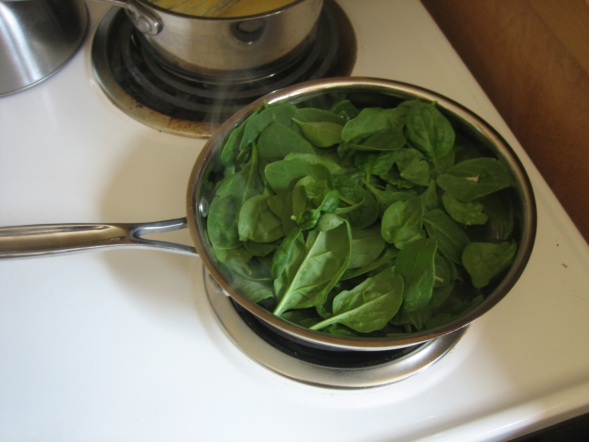 pan o spinach