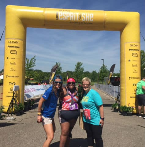 Esprit de She Lakevile Race Recap - Seeing a Race From a Different Perspective