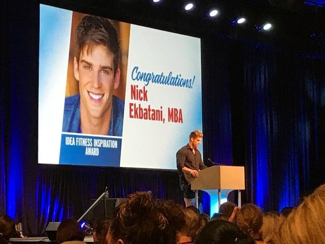 Nick Ekbatani at IDEA World