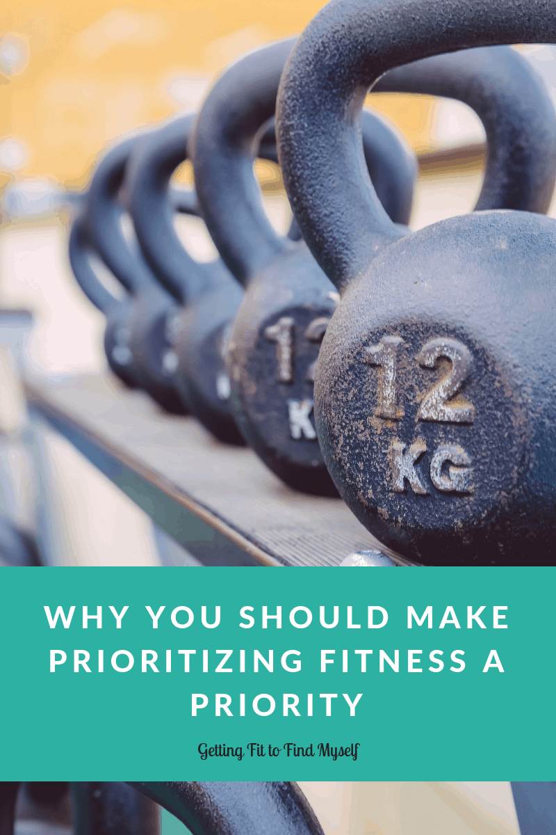 Why You Should Make Prioritizing Fitness a Priority