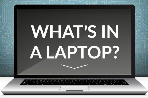 What is inside laptop