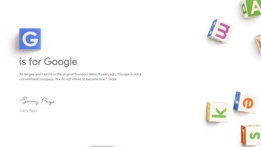 googel alphabet
