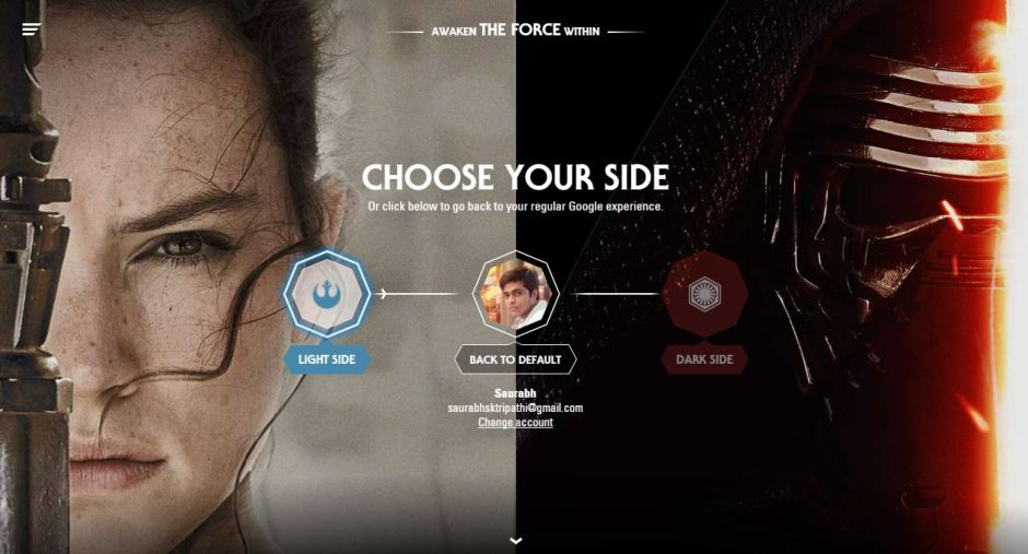 Google's Star Wars Easter Eggs Are Simply Awsome