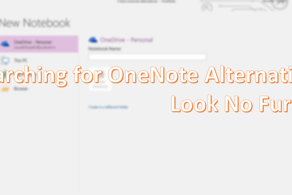 best Microsoft onenote alternatices