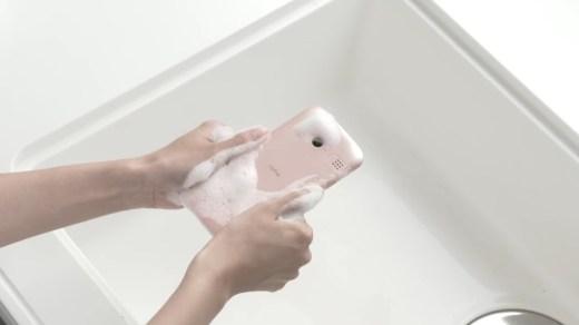 washable phone