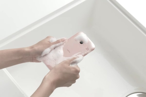 washable phone