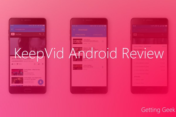KeepVid Android Review