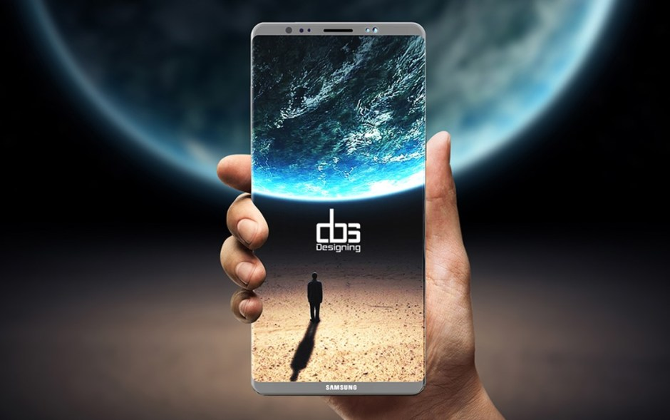 Galaxy Note 8 mockup from  Muhsin M. Belaal Auckburaully