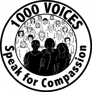 1000Voicesspeakforcompassion