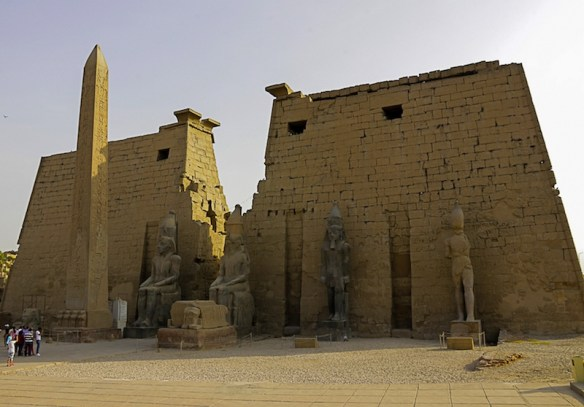 Entrance to the Luxor Temple