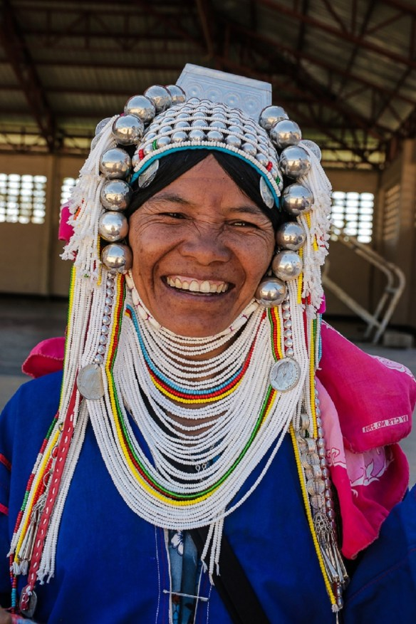 An indigenous hilltribe lady