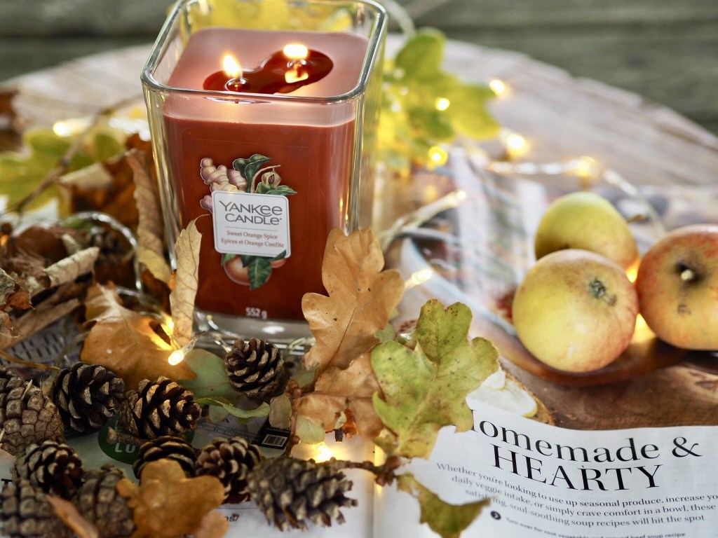 Autumn with Yankee Candle Elevation Collection