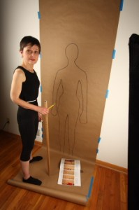 Me with my good buddy, my figure outline
