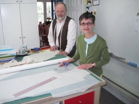 preparing a sloper for Jack