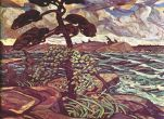 Arthur Lismer - A September Gale Georgian Bay
