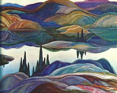 Franklin Carmichael - Mirror Lake