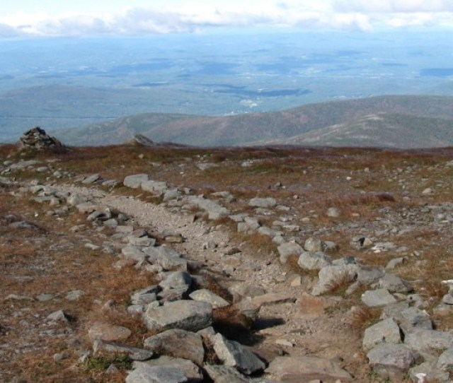 View From Summit Of Mt Moosilauke 4 Feature