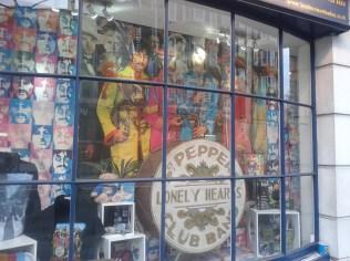 Beatles Store on Baker Street
