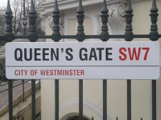 Queen Vic st - Queens gate