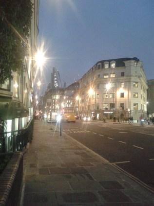 Queen Victoria Street - bright light