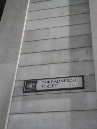 Tower Hll - Threadneedle Street