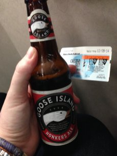 Metro North beer.