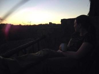 Sunrise at Big Cave