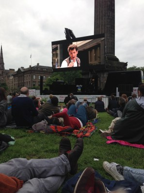 Best film ever in St Andrew Square