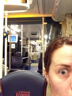 First Edinburgh Tram ride