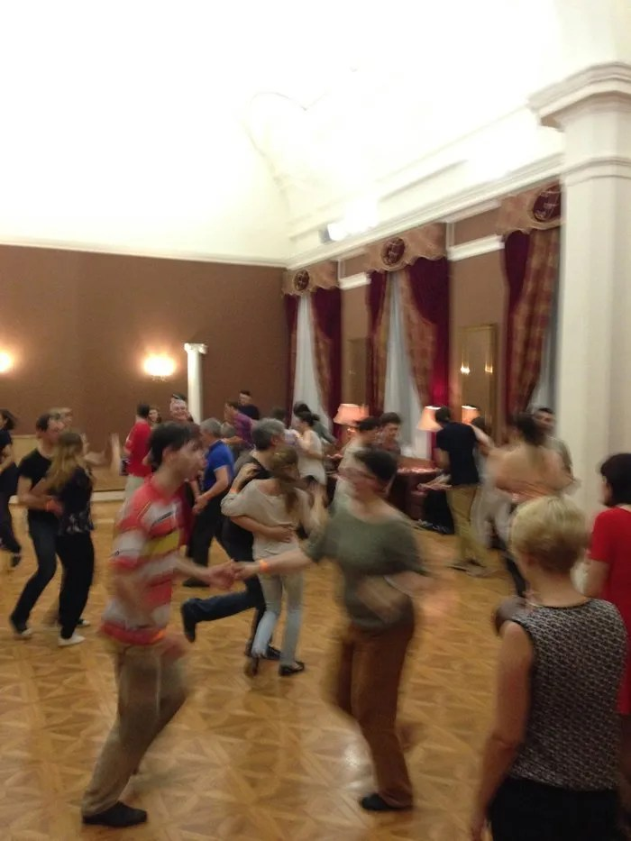 In the Freedom Palace with Summertime Swing.