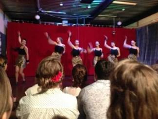 Fabulous cabaret chorus line