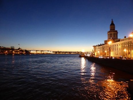 Good night, St Petersburg