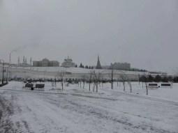 Kremlin from (icy) afar