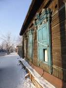 Beautiful old wooden houses