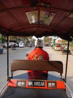 My tuk tuk driver, rocking a pretty rad jacket