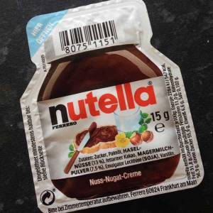 German Nutella pot