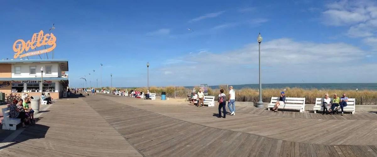 Rehoboth boardwalk, Delaware, USA
