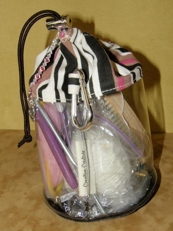 My Choco-Strawberry Looming Bag!