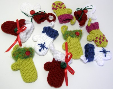 Pile o' Sweet Lil' Mitts