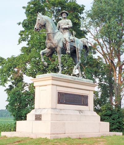 Monuments To Major General John F Reynolds At Gettysburg